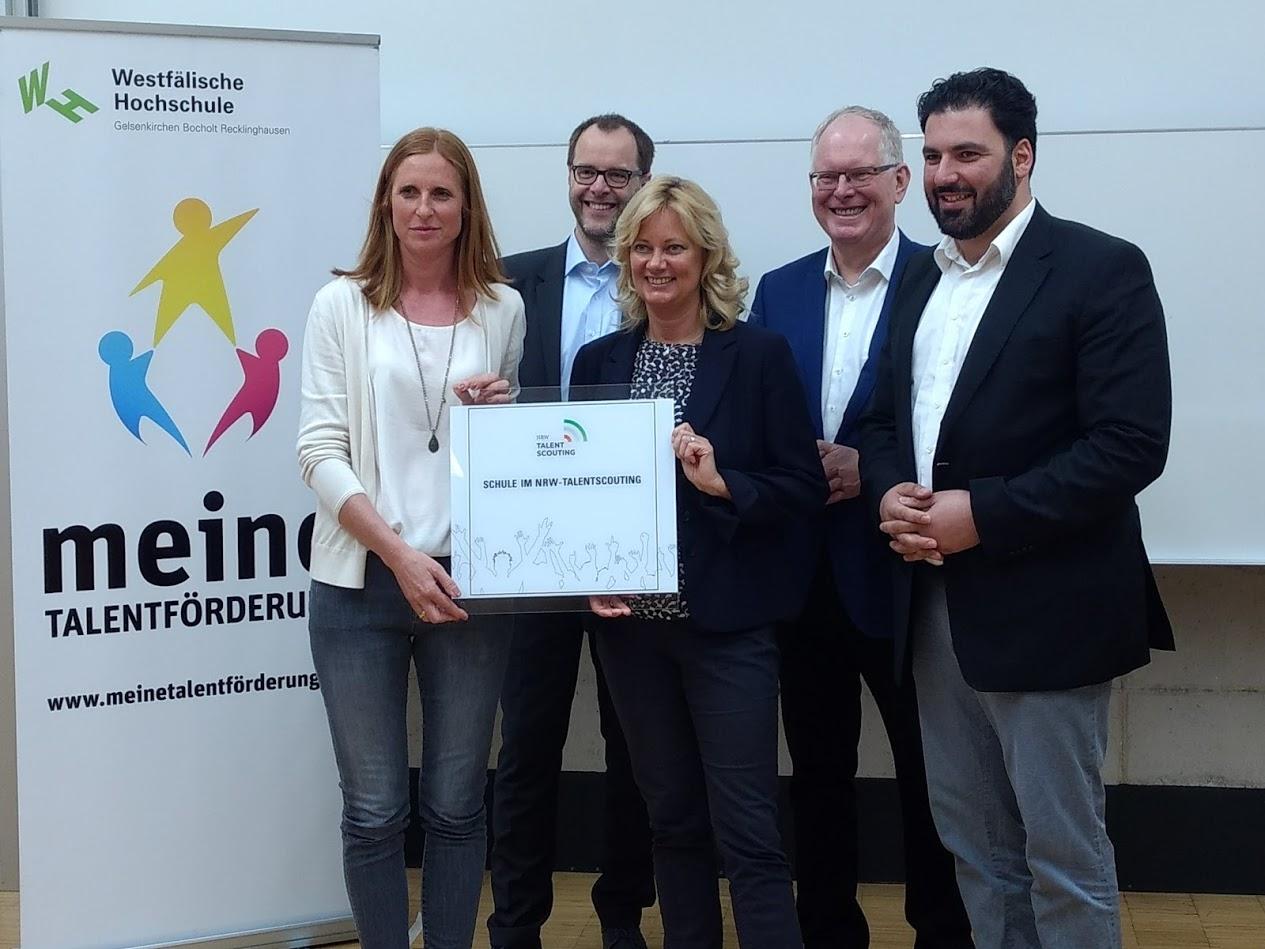 "Max-Born-Berufskolleg – ""Schule im NRW-Talentscouting"""