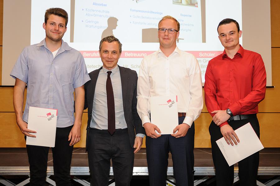 Verleihung des Stiftungspreises der Max und Gustav Born Stiftung 2018