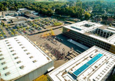 Der Campus Vest von oben 1