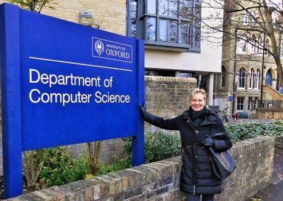 Frau Holl in Oxford