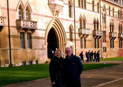 Frau Holl und Herr Dr. Schultes-Bannert in Oxford