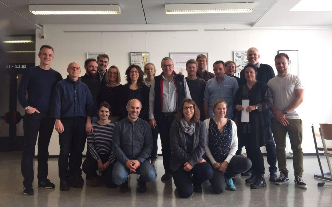 Tagung der Orthopädietechnik in Berlin unter anderem mit Daniel Schulze Frenking