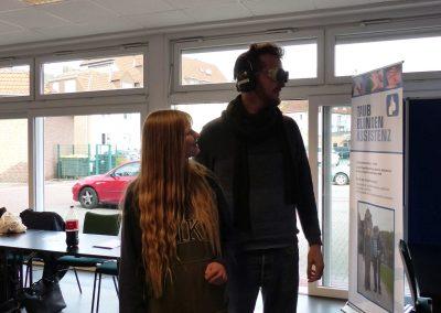 Besuch der HAO beim Gehörlosenzentrum