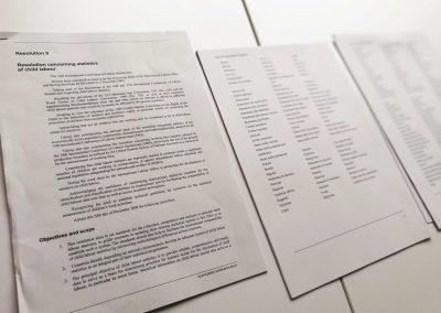 Model United Nations in Classroom 2018 - Vokabeln und Textbausteine