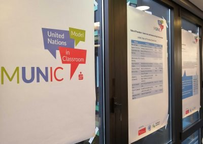 Model United Nations in Classroom 2018 - Informationen