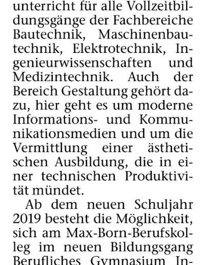 Tag der Beratung - Recklinghäuser Zeitung 07.02.19