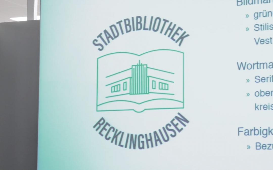 Ein Logo für die Stadtbibliothek