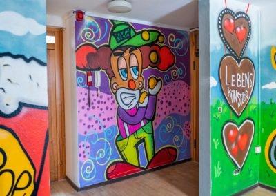 Jahrmarkt der Möglichkeiten – ein Graffiti-Workshop