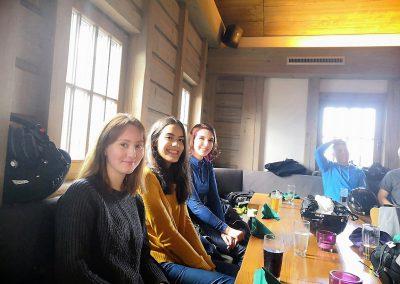 Die SV in der Skihalle