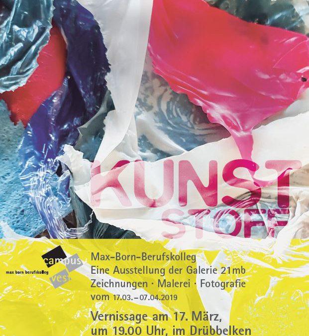 "Vernissage Drübbelken am 17.03.2019 ""Kunststoff"""