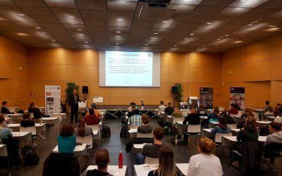 Bandagen-Workshop mit Auszubildenden der Orthopädietechnik