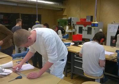 Berufsfachschule Medizintechnik - Werkstattunterricht
