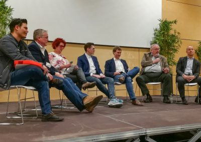 Europawahl Podiumsdiskussion