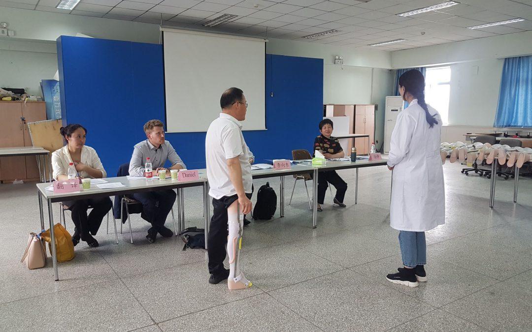 Orthopädietechnik zu Gast in China