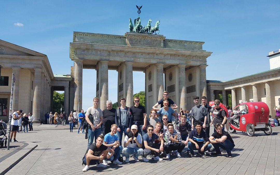 Klassenfahrt der B2E nach Berlin