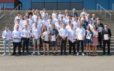 Zeugnisverleihung für die Absolventinnen und Absolventen der Fachhochschulreife 2019