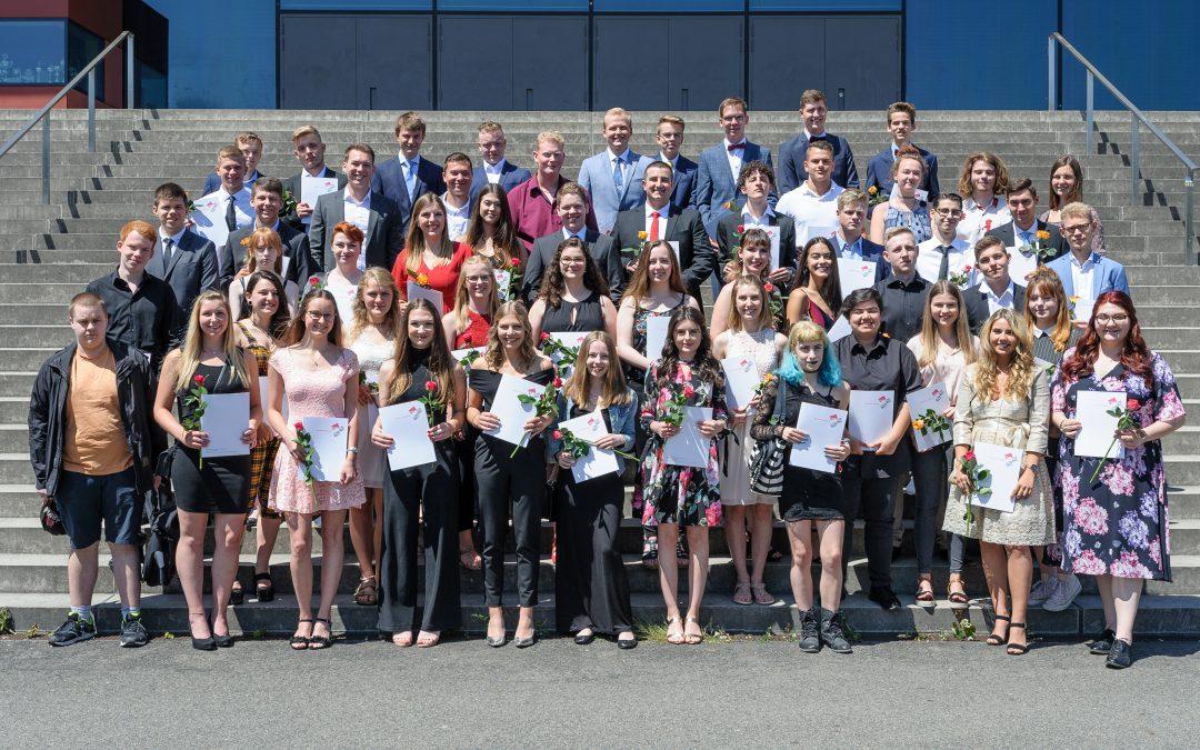 Entlassfeier der Abiturientinnen und Abiturienten 2019