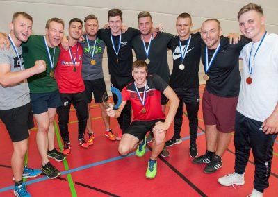 Sportfest am Max-Born-Berufskolleg. Völkerballturnier 1. Platz MEM1+2