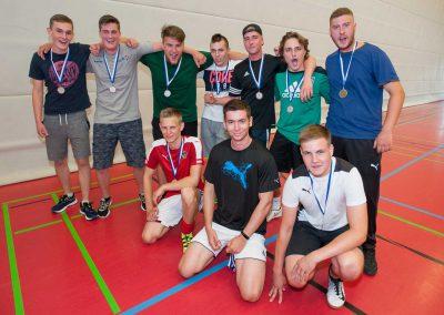 Sportfest am Max-Born-Berufskolleg. Völkerballturnier 2. Platz MKU1