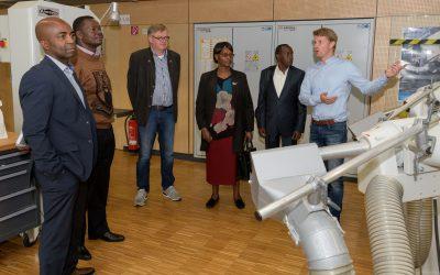 Delegation aus Kenia zu Gast in der Abteilung Orthopädietechnik