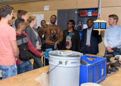 Delegation aus Kenia in der Orthopädietechnik