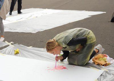 Malen wie Jackson Pollock