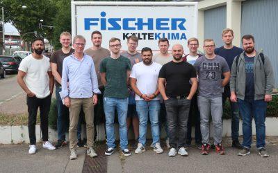 Fachschulklasse T72 besucht die Firma GEA Bock und Fischer Kälteklima im Rahmen eines CO2-Seminars