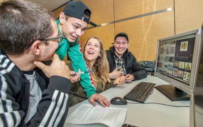 Erasmus Projekt mit italienischen Schülerinnen und Schülern