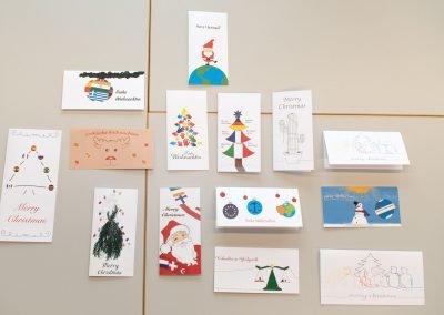 Weihnachtskarten für Frank Schwabe