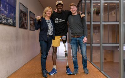 Prothesenversorgung für Malik Samb aus Westafrika