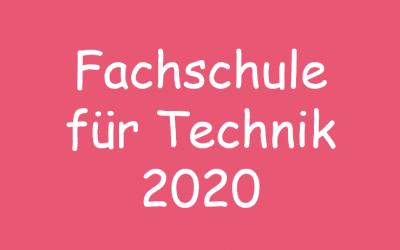 Fachschule für Technik 2020