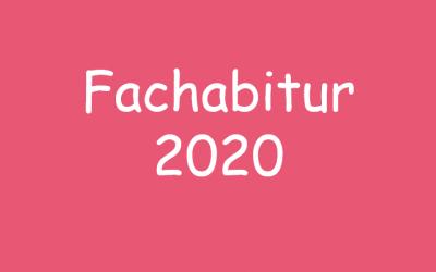 Fachabitur 2020