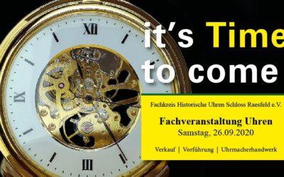 22. Messe für historische Uhren