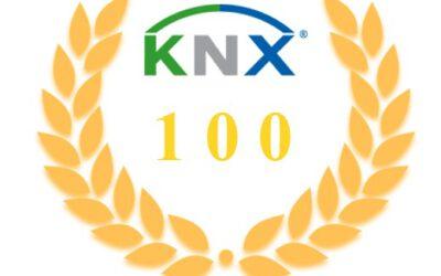 KNX Zertifikat feiert 100. Jubiläum
