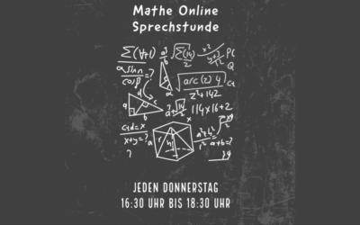 Neu am MBBK: die online-Mathesprechstunde